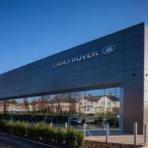 New Jaguar Land Rover Showroom, Ayr