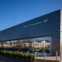 New Jaguar Land Rover Showroom, Ayr