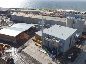 Troon Combined Heat & Power (CHP) Biomass Plant